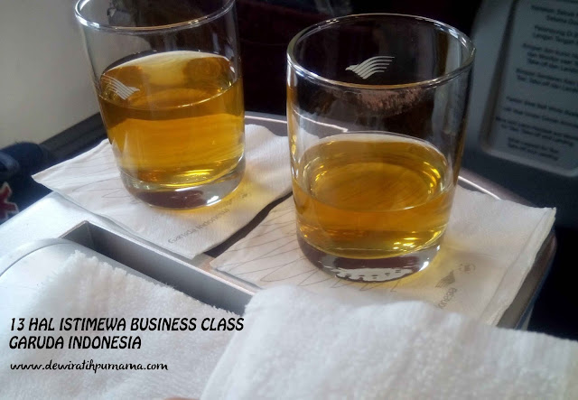 Business Class Garuda indonesia
