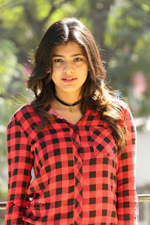 Actress Hebah Patel Stills in Blue Denim Jeans at Nanna Nenu Naa Boyfriends Movie Success Meet  0035.JPG