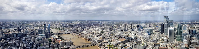 View from The Shard, The Unfinished City