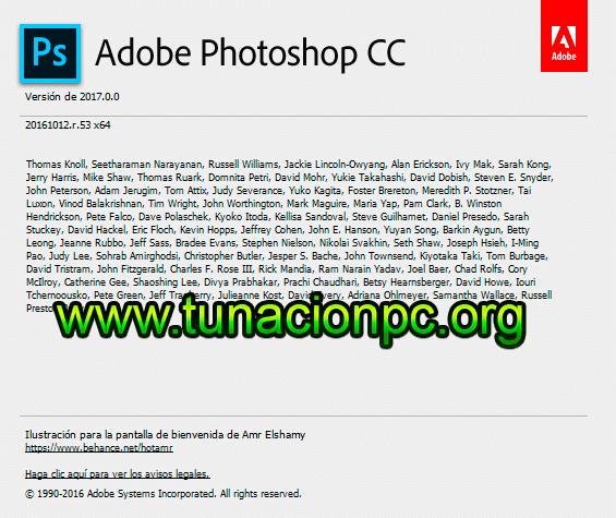 Adobe Photoshop CC 2017 Full para Windows y MacOS