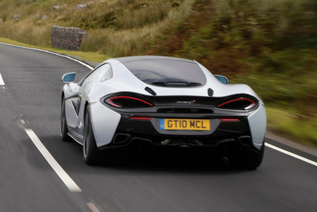 2016 New McLaren 570GT UK Review