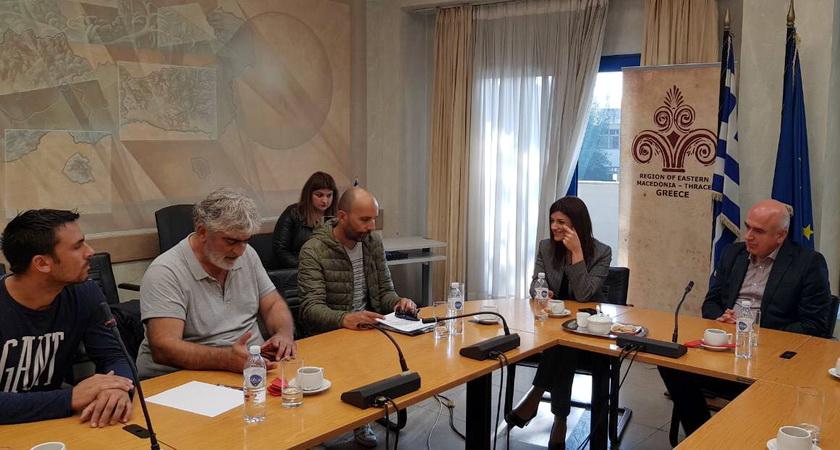 Στη Ροδόπη η Υφυπουργός Μακεδονίας και Θράκης Κατερίνα Νοτοπούλου