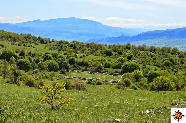 Monte Pallano, insediamento abitativo d'epoca romana