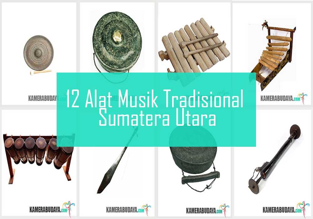 Inilah 12 Alat Musik Tradisional Dari Sumatera Utara