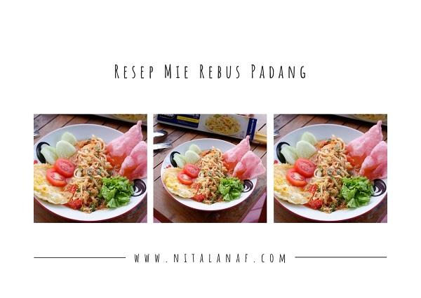 Mie Rebus Padang