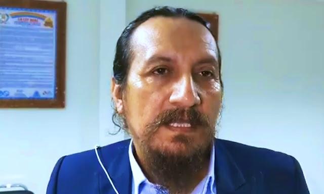 Wilfredo Tenorio, personero del Frepap