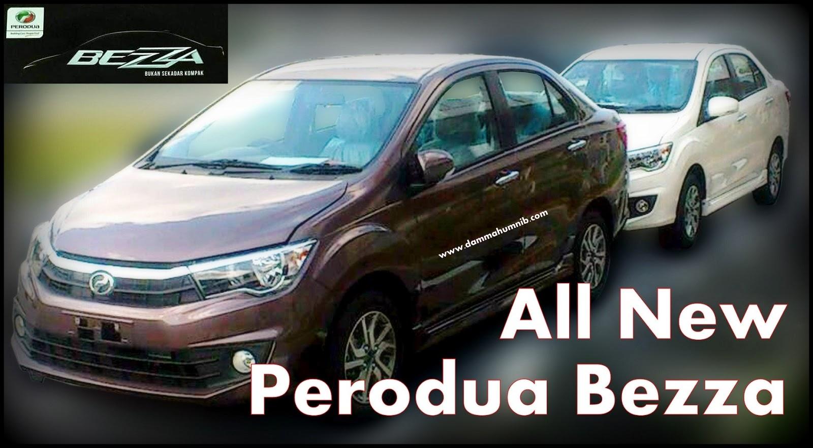 Model Baru Perodua Sedan 2016 - Relaks Minda