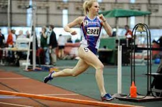 Connors Girlfriend In Track Event