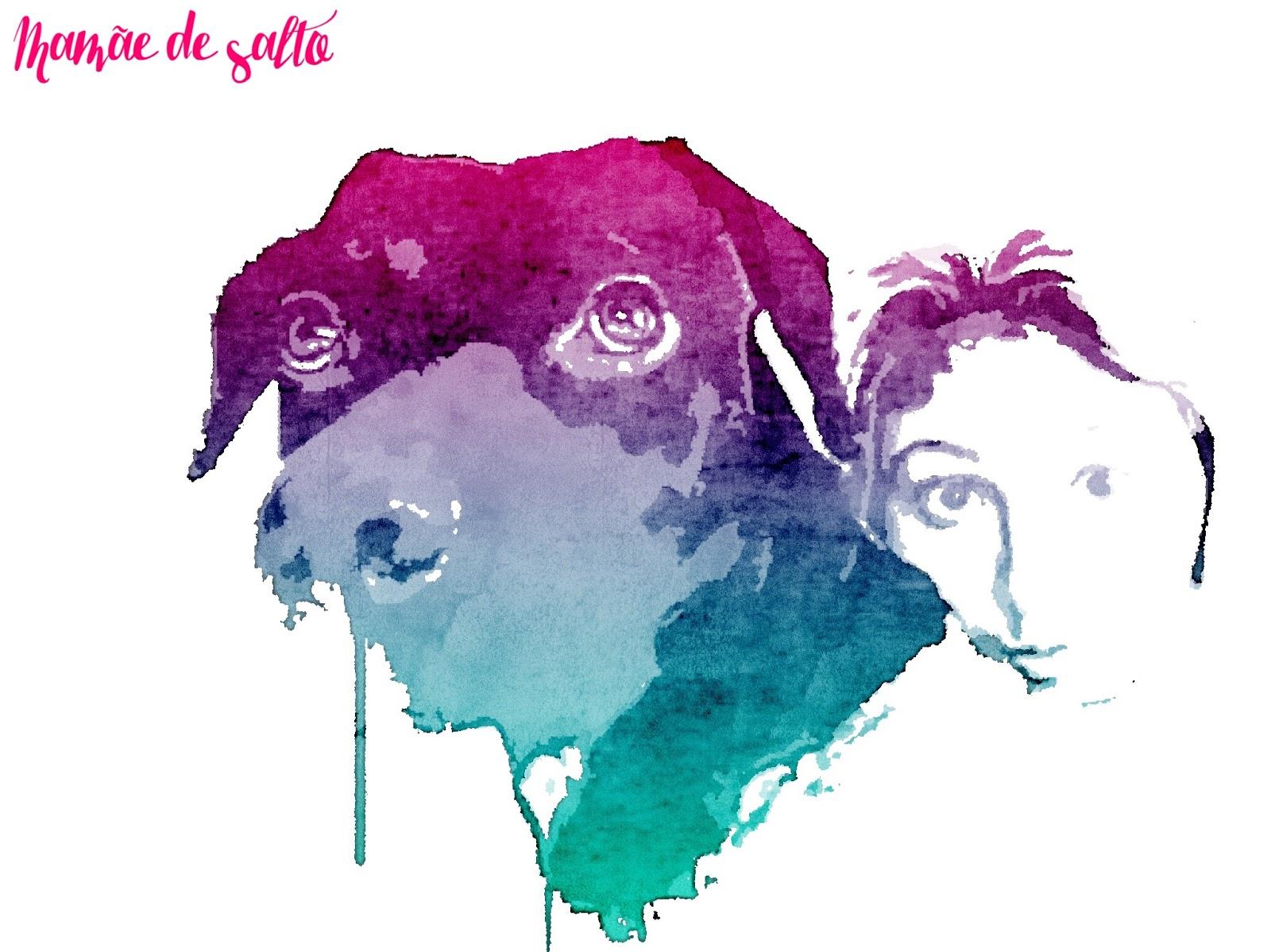 sobre nosso cachorro adotado, o Marvel ...  blog Mamãe de Salto