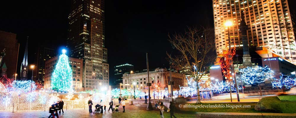 A Downtown Cleveland Merry Christmas U0026 Happy New Year Wish