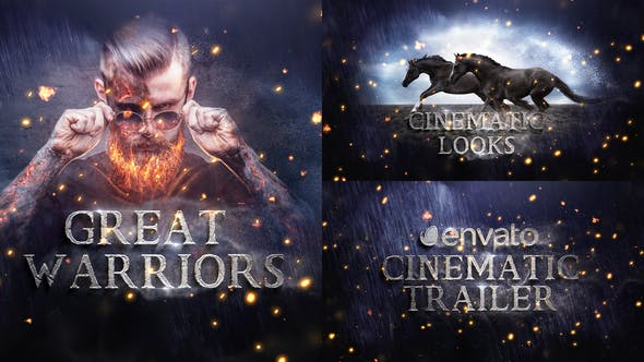 Videohive - Cinematic Trailer Titles - 22705895