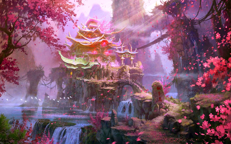 Stunning Hd Fantasy Gaming Desktop Wallpapers: Beautiful Fantasy Hd Wallpapers Images