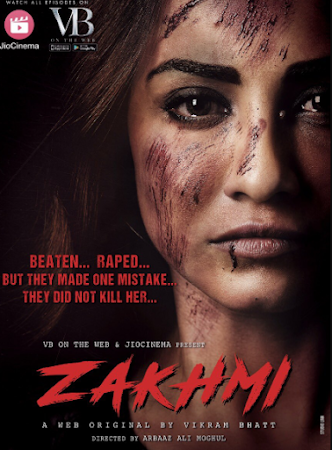 Poster Of Zakhmi Season 01 2018 Watch Online Free Download