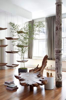 Loft de diseño oriental en Tribecca de Rodney Lawrence