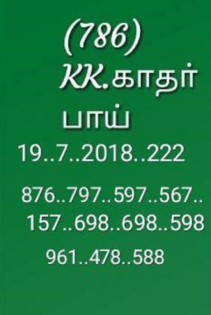 kerala lottery final abc guessing on 19-07-2018 karunya plus kn-222 by KK