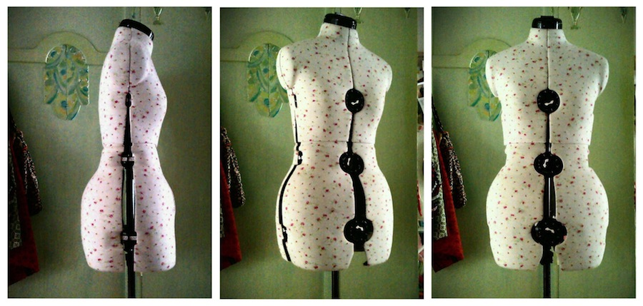 Adjustable dressmakers dummy
