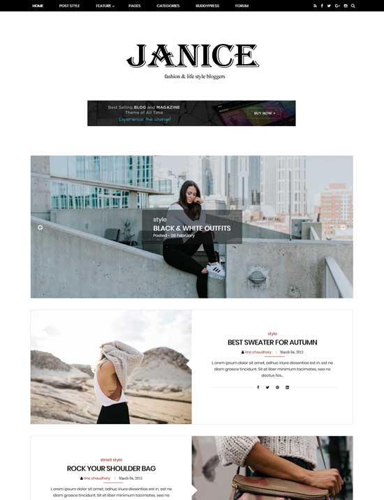 Blogger Tema-Moda