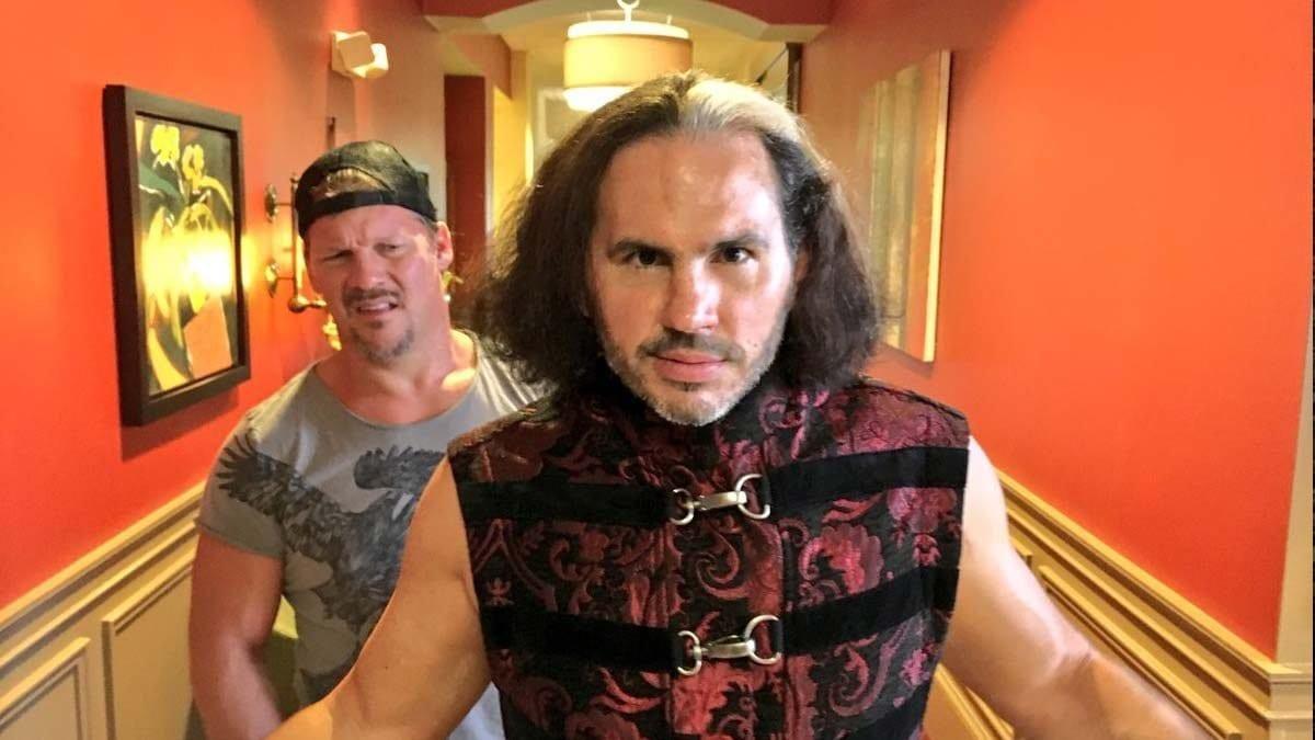 Chris Jericho revela que nunca terá uma feud solo com Matt Hardy na AEW
