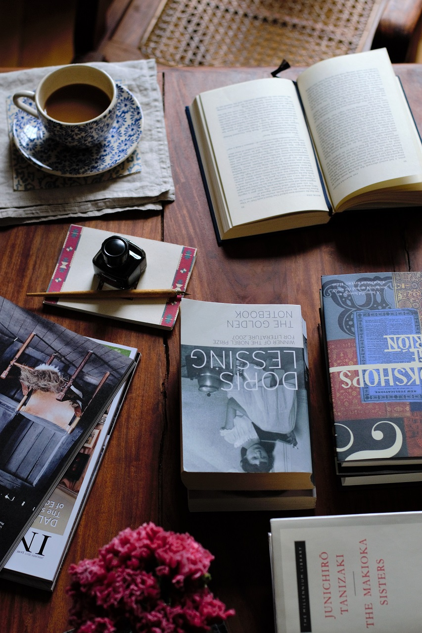 Books and coffee: The Golden Notebook by Doris Lessing · Lisa Hjalt