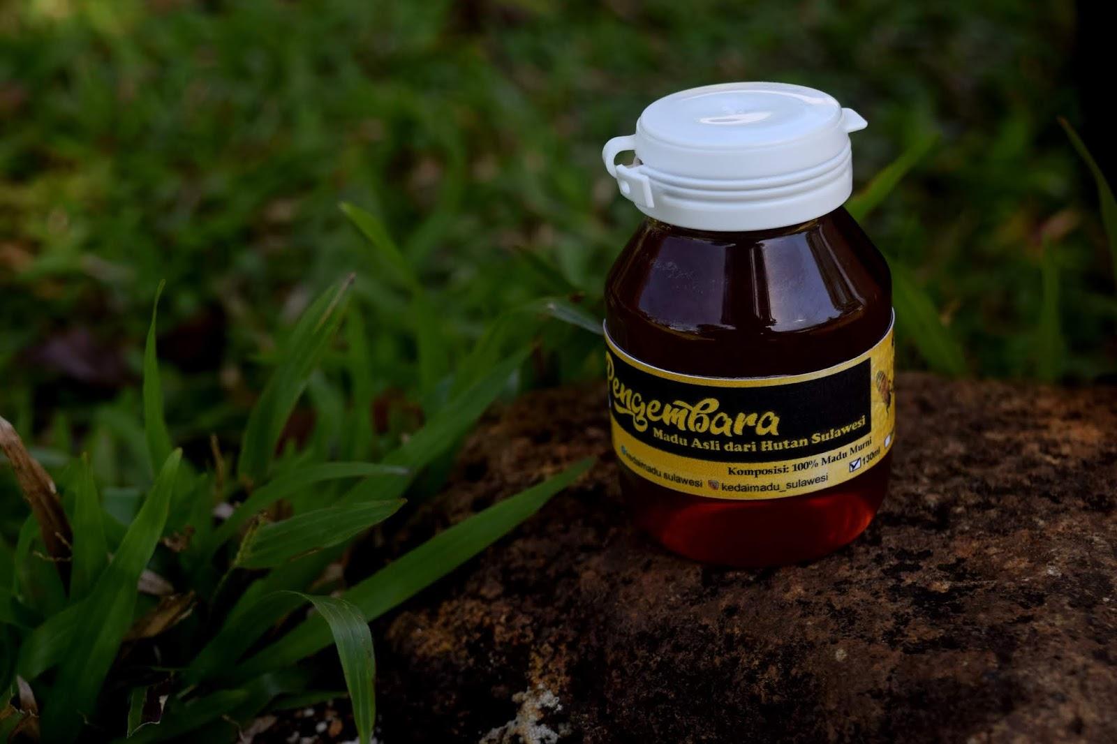 Madu coklat 130 ml - Kedai Madu Sulawesi