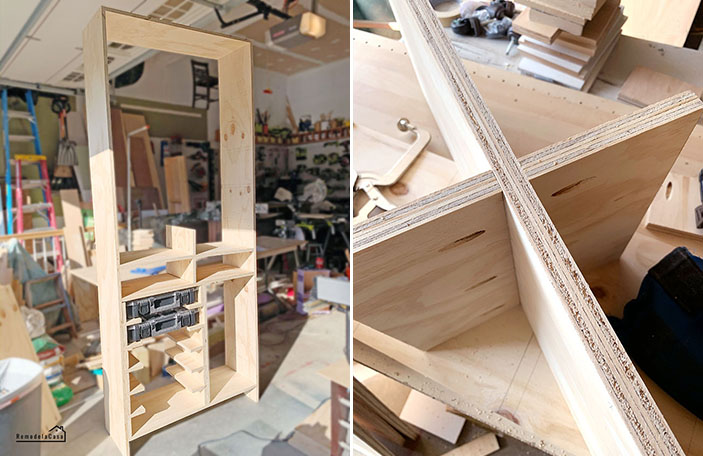 plywood tool storage cabinet