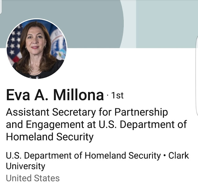Eva Millona, the first born-Albanian in the highest level in US administration