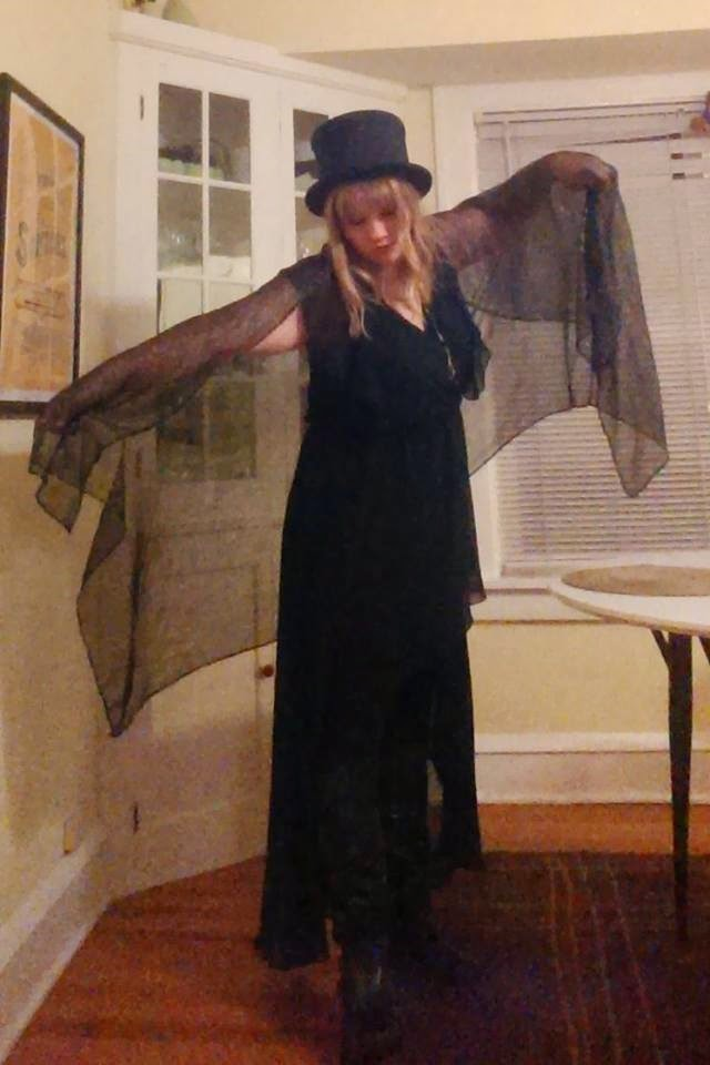 7b4a9386082 ... Stevie Nicks dress that I got on clearance at the grocery store  (because yeah
