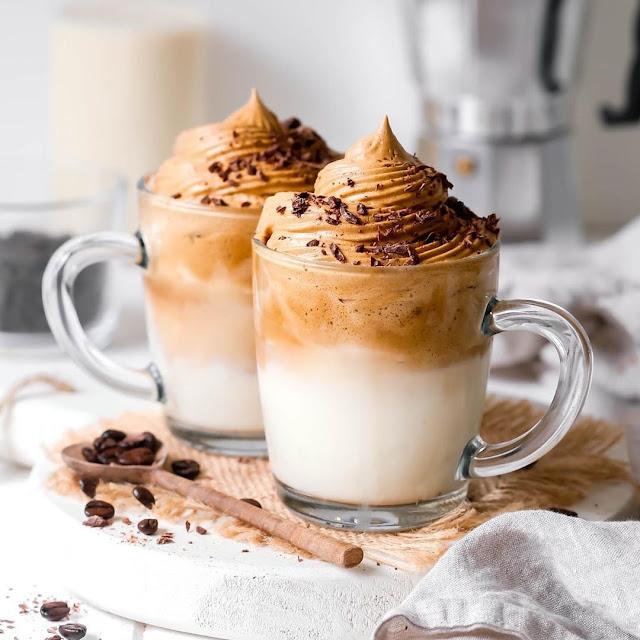 Resep Membuat Dalgona Coffee Mudah Tanpa Mixer