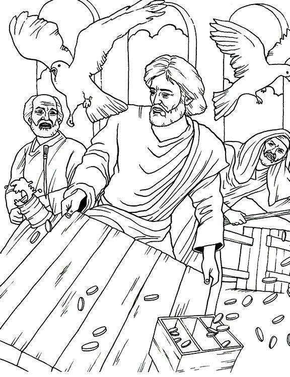 Compartiendo por amor: Jesús expulsa a los vendedores del Templo