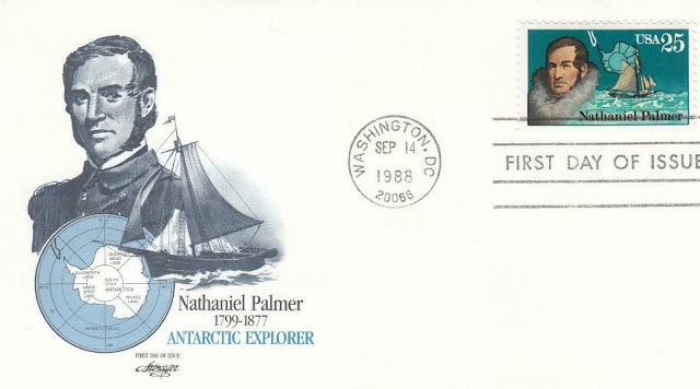 Antarctic Explorer-Nathaniel Palmer FDC