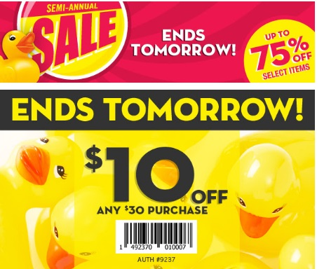 Bath & Body Works Semi-Annual Sale Up To 75% Off + $10 Off + 20% Off Coupon