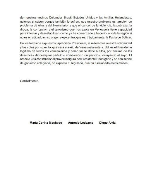 Soy Venezuela a Guaidó: Le exigimos que suspenda el diálogo con Maduro