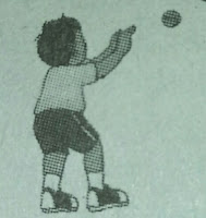 menerima bola