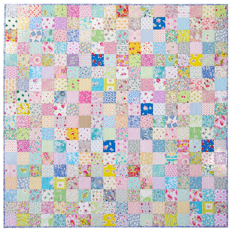 Custom Order Patchwork Quilt | Red Pepper Quilts 2015