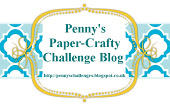 I design for: Penny's Paper Crafty Challenges