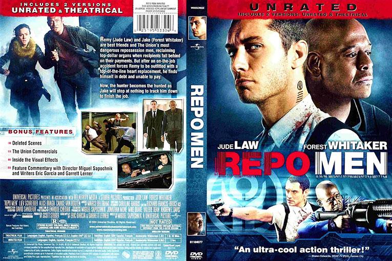 Repo Men (2010) 720p BrRip [Dual Audio] [Hindi+English]