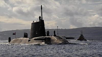 Submarinos británicos se acercan a Siria para posible ataque