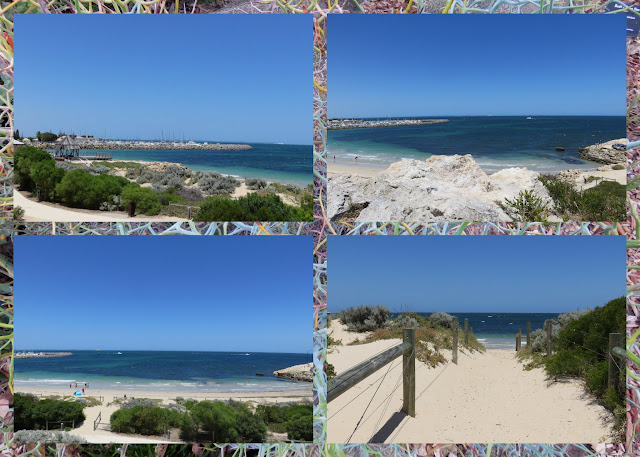 Perth points of interest - Views of the Indian Ocean