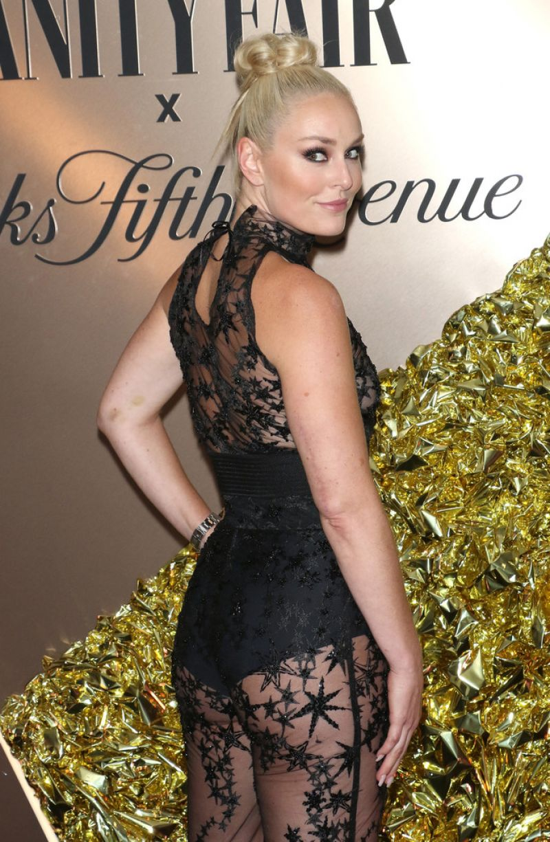 Lindsey Vonn Clicks at Vanity Fair's 2019 Best Dressed List in New York 5 Sep-2019
