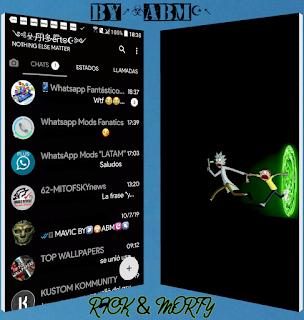 Rick & Morty Theme For YOWhatsApp & Fouad WhatsApp By ABM