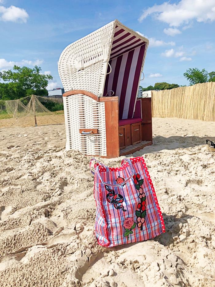 DIY - Uszyłam torebkę z  torby bazarowej!