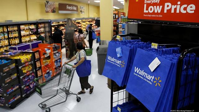 Supermercado Walmart em Los Angeles
