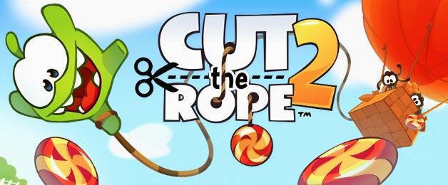 تحميل لعبة cut the rope 2 مهكرة