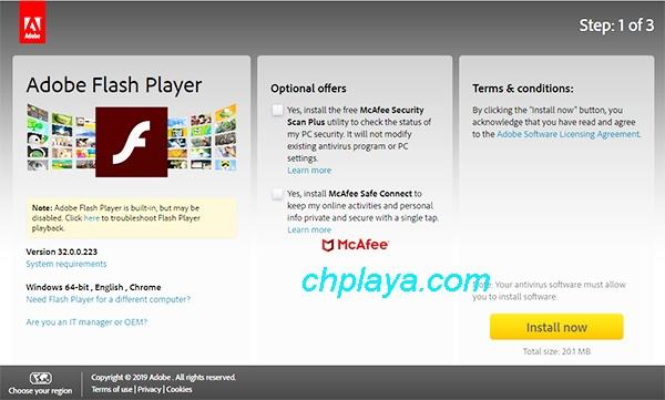 Download Adobe Flash Player Mới Nhất Cho PC Windows 7/10 Miễn Phí d
