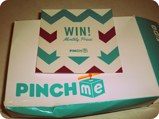 PinchMe Sample Box [September 2014]