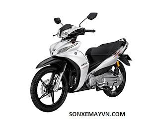 Bán Sơn xe máy YAMAHA JUPITER màu trắng
