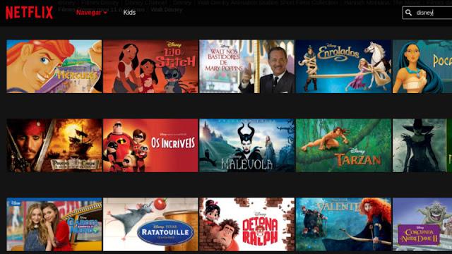 Netflix perderá participação da Disney