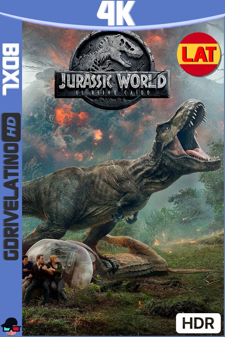 Jurassic World : El Reino Caido (2018) BDXL 4K UHD HDR Latino-Ingles ISO