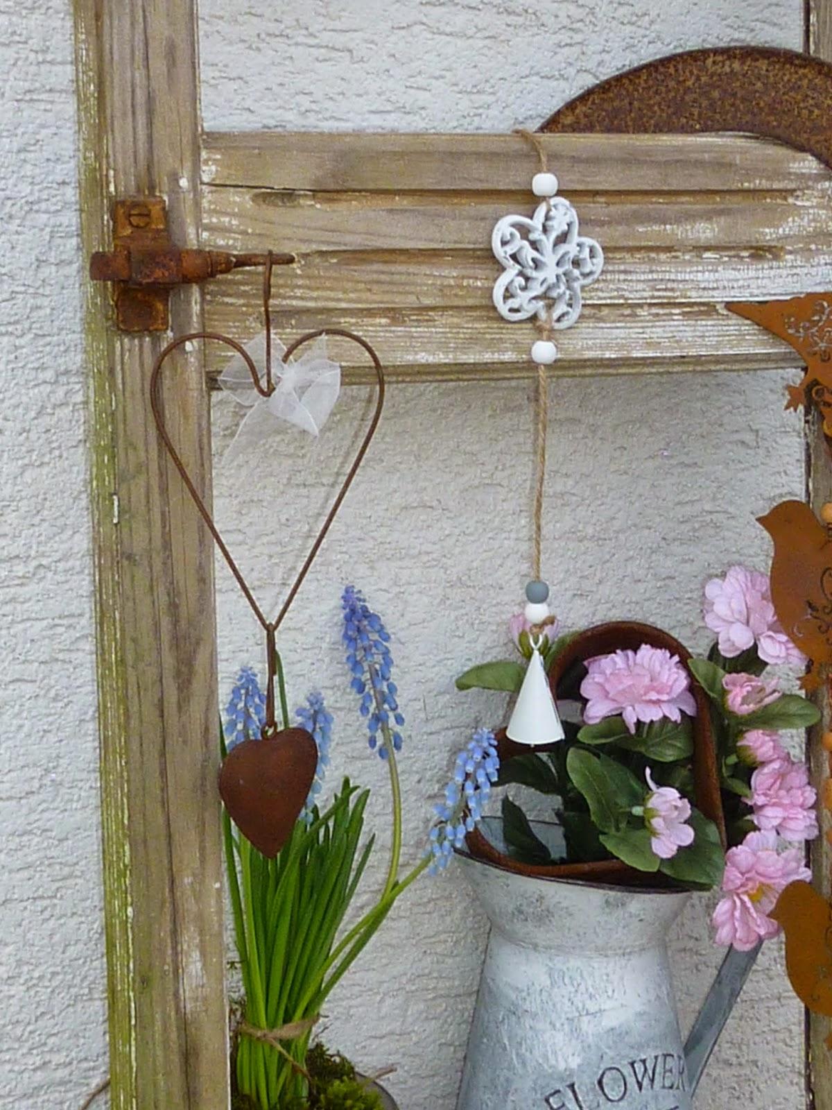 Alte Holzleiter Im Garten Dekorieren Adventskranz 5 Minuten Diy