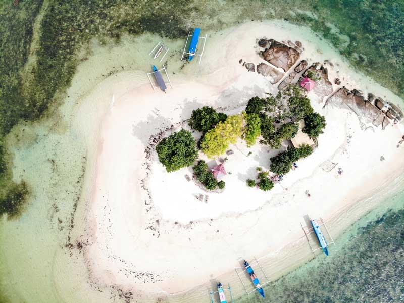 Fasilitas Wisata Gili Kedis Island
